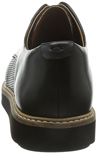 Clarks Glick Darby, Chaussures de ville femme Noir (Black Leather)