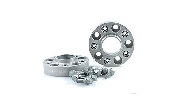 TuningHeads//H/&R .0477759.DK.B2055571A-B3055571 Spurverbreiterung Blackline VA 20 mm//HA 30 mm Radschrauben