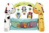 Fisher-Price CCB70 3-in-1 Erlebnisdecke Krabbeldecke mit Lichtern und Musik inkl. Spielzeugen Babyerstausstattung, ab 0 Monaten für Fisher-Price CCB70 3-in-1 Erlebnisdecke Krabbeldecke mit Lichtern und Musik inkl. Spielzeugen Babyerstausstattung, ab 0 Monaten