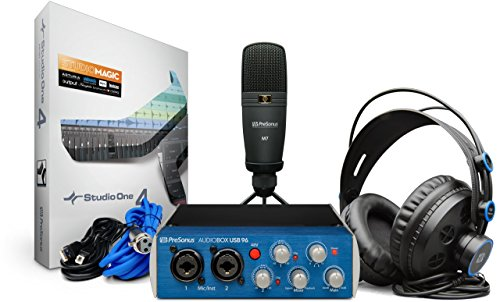 PRESONUS AUDIOBOX USB 96 STUDIO SCHEDA AUDIO USB CON MICROFONO E CUFFIE