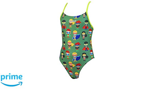 ea6a0db80c Jaked Kids Superheroes Mood One-Piece Swimsuit - Military Green Size 26:  Amazon.co.uk: Sports & Outdoors