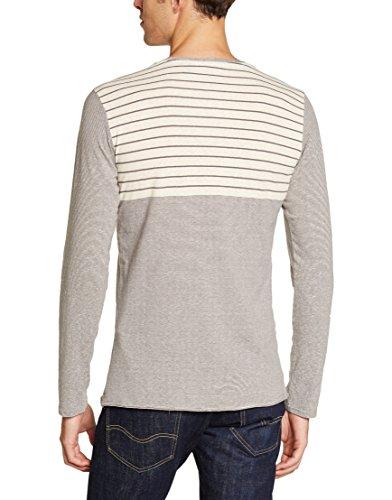 O'Neill Herren T-Shirt LM Doulble-Up Long Sleeve Top White Aop
