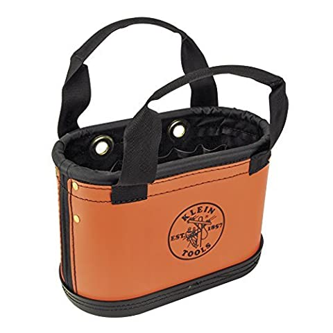 Klein Tools 5144HBS Hard Body Oval Bucket with Sheath by