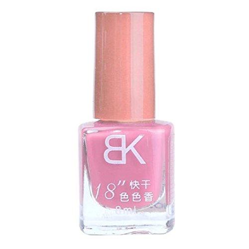 Vovotrade 1pcs 8 ml Liquid Nail Art Nail Colorful polonais vernis à ongles Nail Oil_G