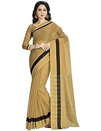 Venisa Women's Cotton Saree With Blouse Piece (Venisa Armani 1003, Multicolor, Free Size)
