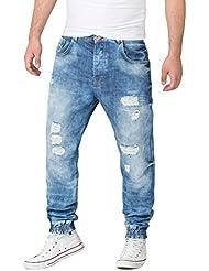 VSCT Noah Cuffed Denim Acid Jeans Hose