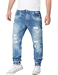 VSCT Noah Cuffed Denim Acid Jeans Hose