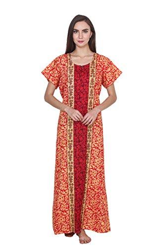 Klamotten Women Long Cotton Nightwear 243Rd25