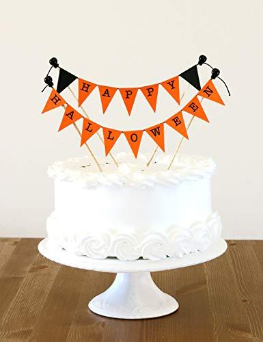 (Amazing Wimpelkette/– Wimpelkette Happy Halloween Dekoration–Kuchen Topper 123081)