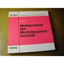 Meßsysteme der Hochfrequenztechnik