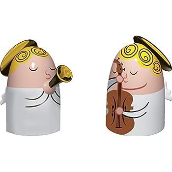 Alessi A di Gilulietta & Loca Statue en porcelaine decorées à la main
