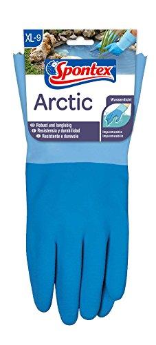 Beschichtete Arbeits-handschuhe (Spontex Arctic, 1 Paar Gr.XL- Handschuh für grobe Arbeiten bei Nässe und Kälte)