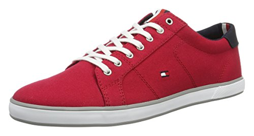 Tommy Hilfiger H2285ARLOW 1D, Sneakers basses homme Rouge