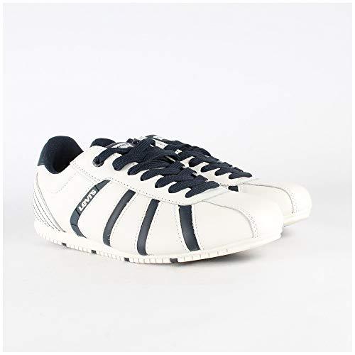 Levis Schuhe Sneaker New Almayer Regular White Weiß - 222739-885-51, Groesse:41 EU / 7.5 UK / 8.5 US
