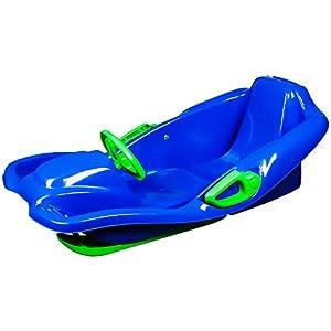 LJW Erhöhung Schlitten Rodeln Niedertemperatur-Polyethylen HDPE Ski Rope Auto Erwachsene Kind Freien