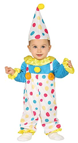 Baby Girls Boys Cute Colorful Spotty Clown Carnival Circus Fancy Dress Costume Outfit (12-24 Months)