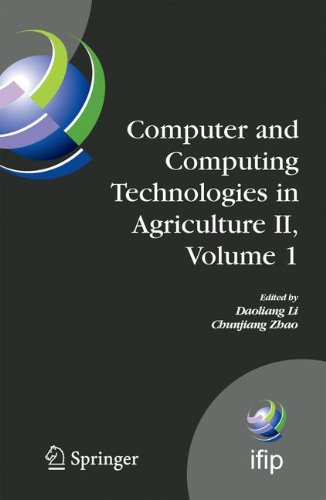 Computer and Computing Technologies in Agriculture II, Volume 1 (IFIP Advances in Information and Communication Technology)