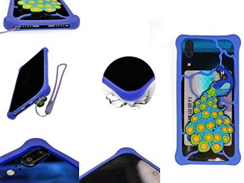 Huayijie Silicone Cover Case for Oukitel K4000 Pro K6000 Premium K10000 U7 U6 C1 U2 Black Bull P2 U10 U9 Kindo Thranduil U8 Universe Tap Original Pure One LKQ