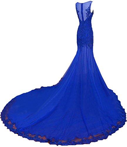 Promgirl House - Robe - Crayon - Femme bleu roi