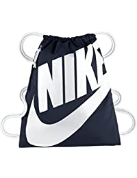 Nike Heritage Gymbag Gymsack Turnbeutel BA5351-451 (obsidian/white)