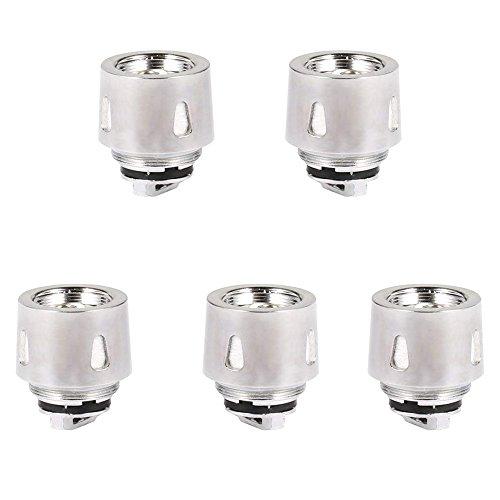 FREDEST 5x Replacement Atomiseur Coils pour cigarette electronique, Fit For X24 220W& TC 200W, 0.2 Ohm, Sans Nicotine Ni Tabac