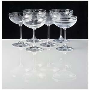 Set de 6 coupes à champagne Oslo, Markhbein