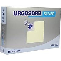 URGOSORB Silver 5x5 cm Kompressen 10 St preisvergleich bei billige-tabletten.eu