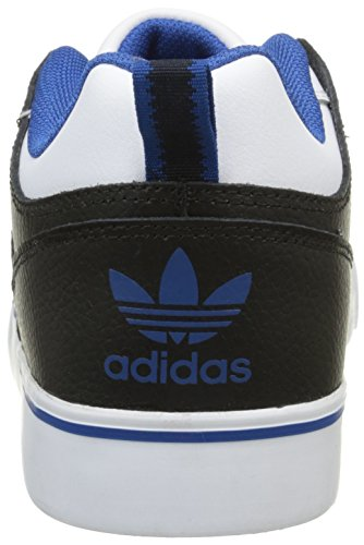 adidas Herren Varial II Low Sneakers, Bunt, 39 EU Weiß - Blanc (Ftwr White/Eqt Blue S16/Core Black)