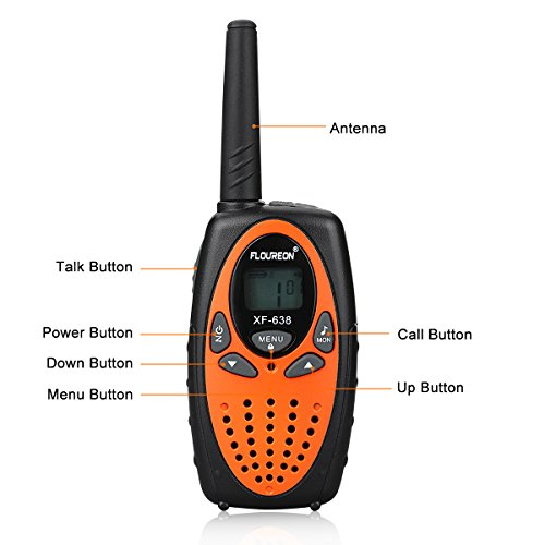 Zoom IMG-3 floureon 4x ricetrasmittente pmr radio