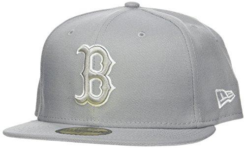 New Era Herren League Basic FIT2 BOSRED GRA Cap, Grey, 7 78-62,5cm (2XL) Preisvergleich