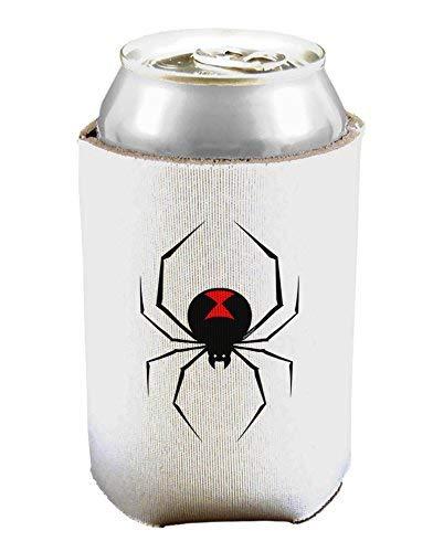Black Widow Spinnen-Design Bierdosen-Kühlhüllenhalter, 1 Stück
