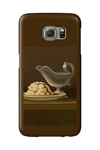 Gravy Boat - Thanksgiving Oil Painting (Galaxy S6 Cell Phone Case, Slim Barely There) Natur Gravy Boat