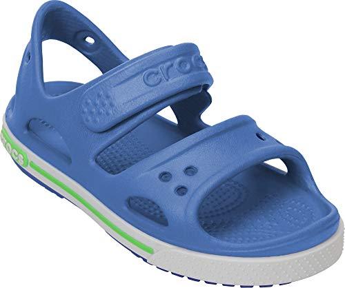 crocs Crocband II Sandal PS Kids sea Blue/White Schuhgröße EU 19-20 2015 Sandalen -
