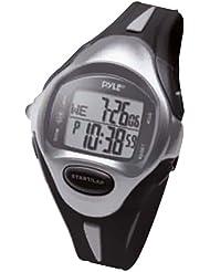 Pyle pswlmr30bk 150Lap Chronograph Speicher Sport Marathon Läufer Armbanduhr