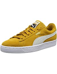official photos ac46b 5632b Puma Unisex Adults  Suede Classic Low-Top Sneakers