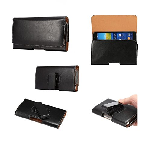 dfv-mobile-executive-holster-magnetic-leather-case-belt-clip-rotary-360-for-zte-boost-max-black