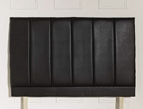 Stratford Leather Look headboard Double (4'6)