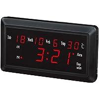 LED grande orario digitale LED orologio orologio orologio orologio dual-use ampio display, 3