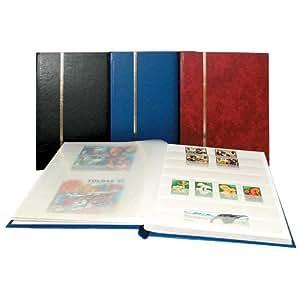 SAFE 131–4 haute einsteckbücher classeur timbres-format a5–avec 16 blanches et pages blanches couverture-avec des premiumprägung bleu