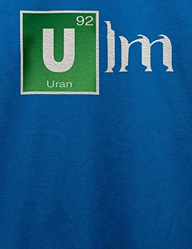 Ulm T-Shirt Royal Blau