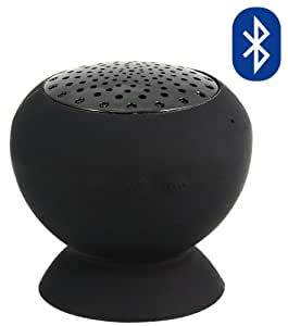 Wasserfester Bluetooth Lautsprecher - schwarz