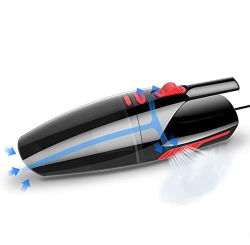 YMXLJJ Handheld-Seil-Staubsauger Auto-Staubentfernung 4200Pa High Power Eingebaute LED-Licht 5M Stromkabel Schwarz