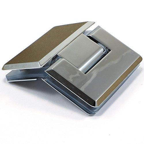 Di Vapor (R) 135° Glas zu Glas Dusche Tür Scharnier | verchromt | Verjüngung