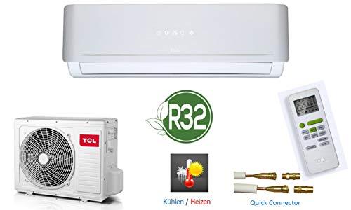 Split-Klimaanlage Klimagerät 12000 BTU A++/A+, mit Quick Connector