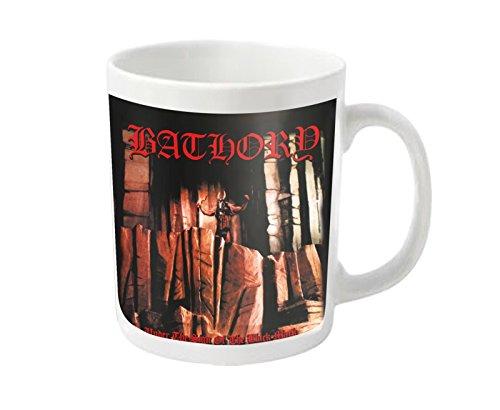 Bathory Kaffeetasse Under The Sign band logo Nue offiziell
