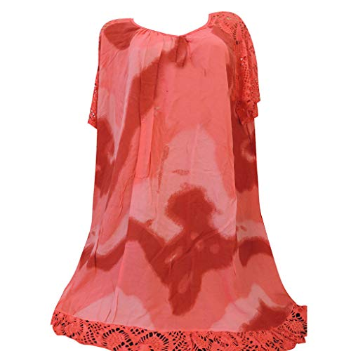 Oberteile Damen Sexy übergröße Bluse Damen Elegant Große Größen Print Rundhals T-Shirt Damen Frauen Casual Bluse Mädchen Damen Sommer Streetwear Frauen Lose Kurze ärmel Shirts mädchen