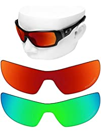 bedca0374b OOWLIT 2 Pair Replacement Sunglass Lenses for Oakley Offshoot POLARIZED