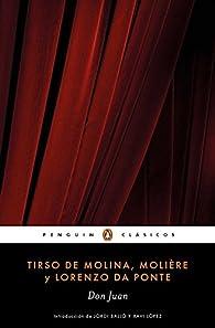 Don Juan par Tirso de Molina