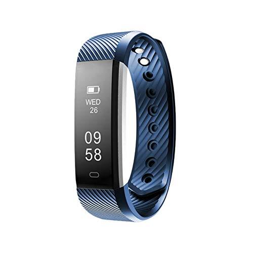 Bluetooth Smart Armbanduhr Schrittzähler Sport Schlaf Überwachung Wecker