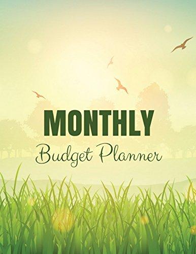 monthly budget planner blue sky cloth surface design budget planner